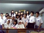 my classmates in AV-Audio Visual room